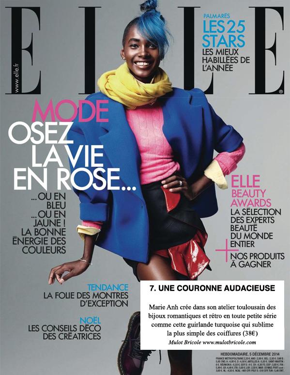 ELLE Magazine - Décembre 2011