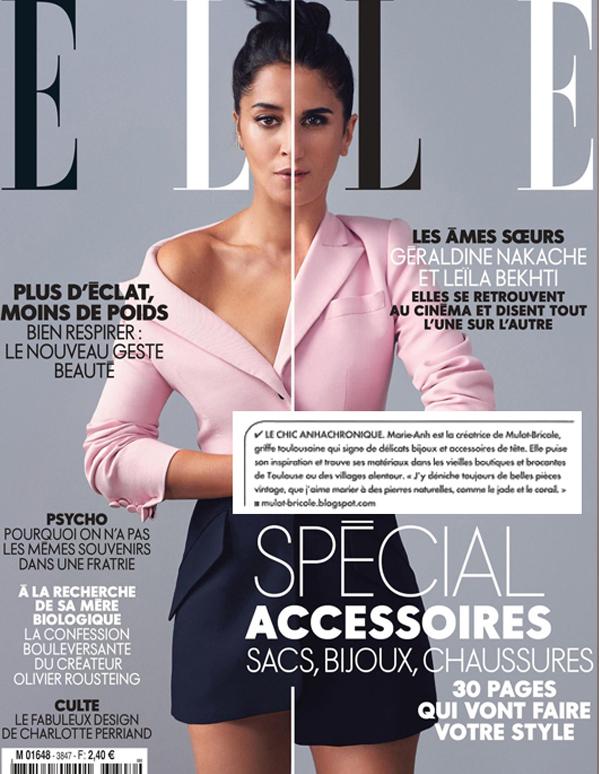 ELLE Magazine - septembre 2010